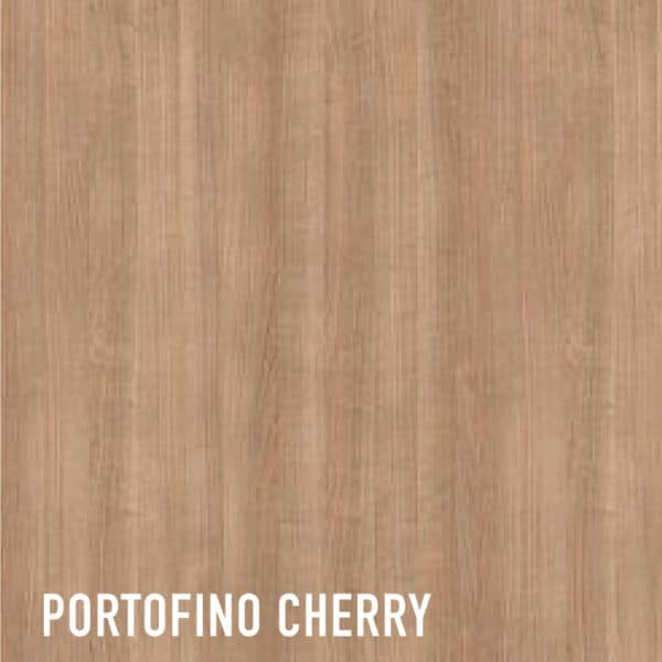 a texture of Cherry melamine faced MDF
